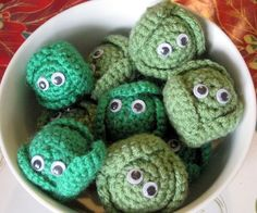 I love sprouts, I think they are delicious. So when I saw these  little beauties on folksy, I thought I must have one immediately. Unfort...