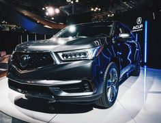 The redesigned 2017 Acura #MDX was highlighted at the New York International Auto Show as the SUV with luxury to spare.