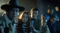 That moment when Harry Potter meets Sherlock meets Doctor Who on a spaceship with dinosaurs.  Thank God for BBC