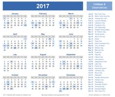 february 2017 calendar, february 2017 calendar with holidays ...