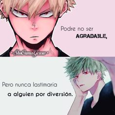 anime frases anime frases sentimientos ShuOumaGcrow kacchan Anime Guys, Sad Anime, Otaku Anime, Anime Love, Kawaii Anime, My Hero Academia, Eyes Quotes Soul, Anime Triste, Brene Brown Quotes