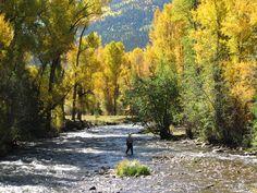Fishing on the Conejos River, Colorado. www.anthonywhitt.com