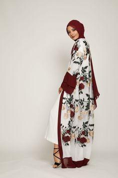 Clothing ideas on traditional african fashion 253 Islamic Fashion, Muslim Fashion, Abaya Pattern, Modern Abaya, African Fashion Designers, Abaya Designs, Abaya Fashion, Hijab Outfit, Spring Blossom