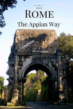 The Appian Way: Ancient Rome's old road. Guide and how to start the Appia Antica from Circo Massimo