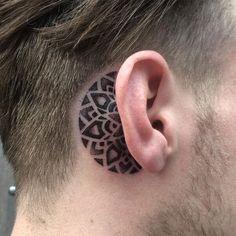 7cd932bbb 50 Best Ear tattoos images   Tattoo designs men, Tattoos for men ...