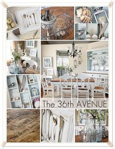 farmhouse dining room makeover...lots of little details