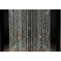 Crystal beads curtain for home decoration from colorpan on Etsy. Beaded Door Curtains, Crystal Curtains, Glitter Curtains, Crystal Beads, Swarovski Crystals, James Bond Party, Metal Curtain, Home Curtains, Recycling