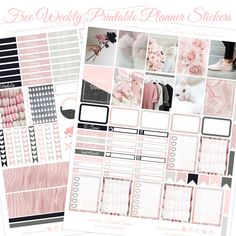 Planner Onelove: Free Aesthetic Vibes Printable With Silhouette Studio Cut File for the EC & Recollections Planner Free Planner, Happy Planner, Project Life, Planner Supplies, Planner Ideas, Printable Planner Stickers, Free Printables, Erin Condren Life Planner, Planner Organization