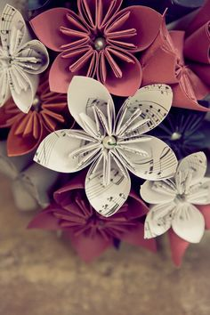 kusudama with pearls