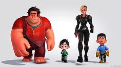 Wreck It Ralph characters.. Halloween costume?
