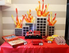 Get Your Craft On: Fire Truck Birthday Party