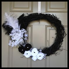 65 Best Door Decor Images White Wreath Deco Mesh Wreaths Wreath