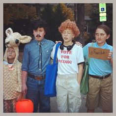 Tina, Pedro, Napoleon Dynamite and Kip Dynamite