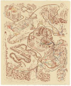 Andrew DeGraff Draws Maps Of Journeys Taken In Star Wars And Other Famous Films