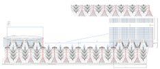 Tricô + Crochê: Saída de praia de crochê azul - PAP, receita e gráfico