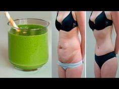 Toma esto antes de irte a la cama durante 5 noches y dile adios de la grasa abdominal - YouTube