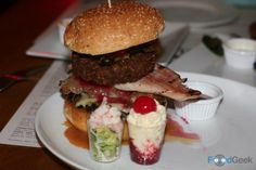 Solita Christmas Burger 2016 at Solita, Manchester