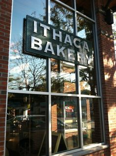 Also so yummy and a favorite of the @parakeetfeet kids...Ithaca Bakery in Ithaca, NY