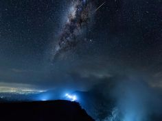 Ijen Galactica  Tell me it's worth sacrificing the sleep and started to hike at 1.30 midnight to catch the Milkyway  It is by far the most challenging hike for me as I was carrying a 9kg camera bag and a 2kg tripod and the route was 3km long uphill. But the effort was well rewarded.  This is the clearest and brightest Milkyway that I have ever seen in my life. It was so clear that I can see it with my naked eyes. And I was lucky too that meteor shot by when I was capturing this photo. On the…