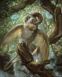 Forest Creatures, Mythical Creatures Art, Mythological Creatures, Magical Creatures, Creature Concept Art, Creature Design, Fantasy Beasts, Fantasy Art, Fantasy Character Design