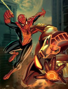 Marvel's High Flying Duo