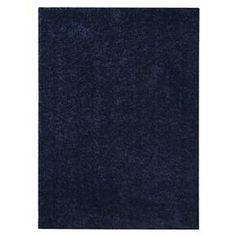 Shag Area Rug - Navy Blue (7'x10') - Room Essentials™ : Target