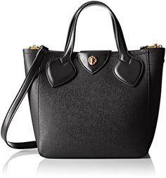 Anne Klein Georgia Mini Cross Body Tote BlackBlack >>> For more information, visit image link.Note:It is affiliate link to Amazon. #CarryWithYou