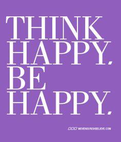 Think Happy Be Happy | Lorna Jane Active