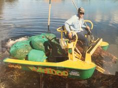 Photo Gallery | Pond Cleaning Services | Aquatic Weed Control Pond Cleaning, Weed Control, West Palm, Heavy Equipment, Photo Galleries, Recycling, Cleaning Services, Gallery, Boats