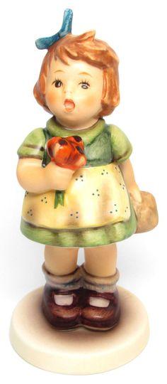 "MI Hummel Goebel Figurine "" The Surprise "" Hum 431 TMK 6 (1979-1991)"