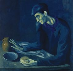 Picasso blue period - See this image on Photobucket.