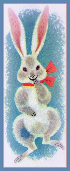 https://flic.kr/p/6xS4Ye | bunny | from Treat Shop,1954 illustrated by Bernice Myers