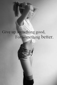 #motivation #thinspiration #blackandwhite I am giving up junk food and more for a healthier, fitter body!