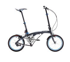 """DAHON EEZZ -  cuadro hidroformado, su innovador y patentado diseño de plegado vertical Jiffold y una selección exquisita de componentes, visten a la EEZZ para lucirse sin complejos a través de las calles, pese a su reducido tamaño de rueda de 16"""" #FoldingBikes #city #UrbanCycling #Mobility #Dahon"""