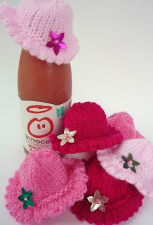 teeny tiny hats for the Innocent Big Knit
