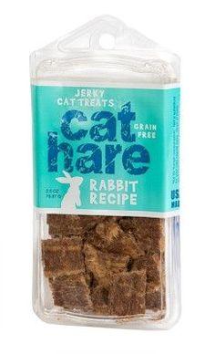DOG TREATS - JERKY & STICKS - CAT HARE 100% RABBIT JERKY - USA - ETTA SAYS, LLC (TREAT PLANET) - UPC: 853994001993 - DEPT: DOG PRODUCTS
