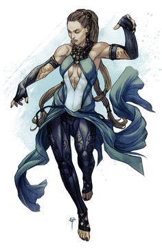 Ymru the Elementalist by Spacefriend-T.deviantart.com on @DeviantArt