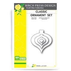 Birch Press Design CLASSIC ORNAMENT Craft Die 57033