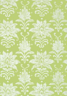 TANGLEWOOD, Green, T24374, Collection Bridgehampton from Thibaut