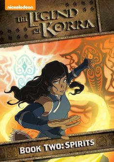 Sugar Pop Ribbons Reviews and Giveaways: Legend of Korra: Book Two, Spirits DVD Set Review & Giveaway