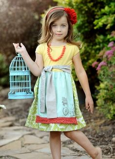 ...to bad I would never drop $75 on a growing little girls dress, cause this ones pretty adorable.