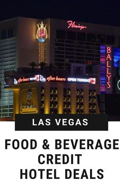 A popular deal offered by Las Vegas resorts comes in the form of a food and beverage credit, or money that can be spent at restaraunts and bars on site. Check out which hotels in Las Vegas are offering that specific type of deal now, as you plan your Vegas Vacation! Las Vegas Resorts, Vegas Vacation, Las Vegas Food, Hotel Food, Vegas Golden Knights, Pool Bar, Las Vegas Strip, Hotel Deals, Hotel Offers