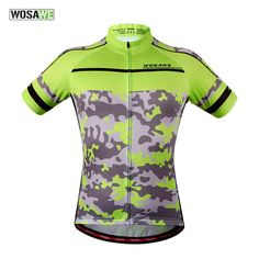ARSUXEO Men s Slim Fit Cycling Jersey Short Sleeves Bike Bicycle MTB Shirt  Gray  CyclingJersey  5f72ac47a