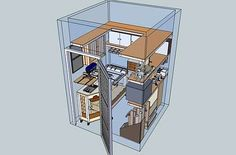 Tiny Workshop For Your Tiny House | Toolmonger