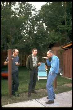 Buzz Aldrin, Neil Armstrong & Michael Collins hanging out in Houston, Texas/photo by Ralph Morse, 1969 Programa Apollo, Apollo 11, Apollo Nasa, Apollo Space Program, Apollo Missions, Buzz Aldrin, Michael Collins, Nasa History, Cosmos