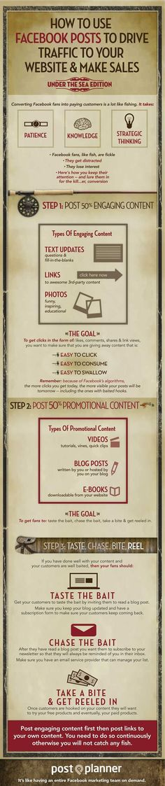 ♪♩♭◥ How to Use #Facebook Posts to Drive #Traffic to Your #Website