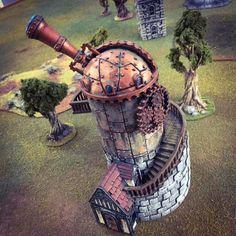 Observatory – Printable Scenery