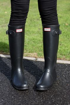 6bbaf26bd Seeing stripes . hunter wellington boots . winter outfit | accessories Hunter  Wellington Boots, Wellies