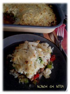 Koken en Kitch: Ovenschotel met lamsgehakt...