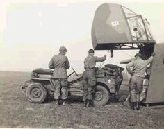 Jeep delivered by glider in WWII
